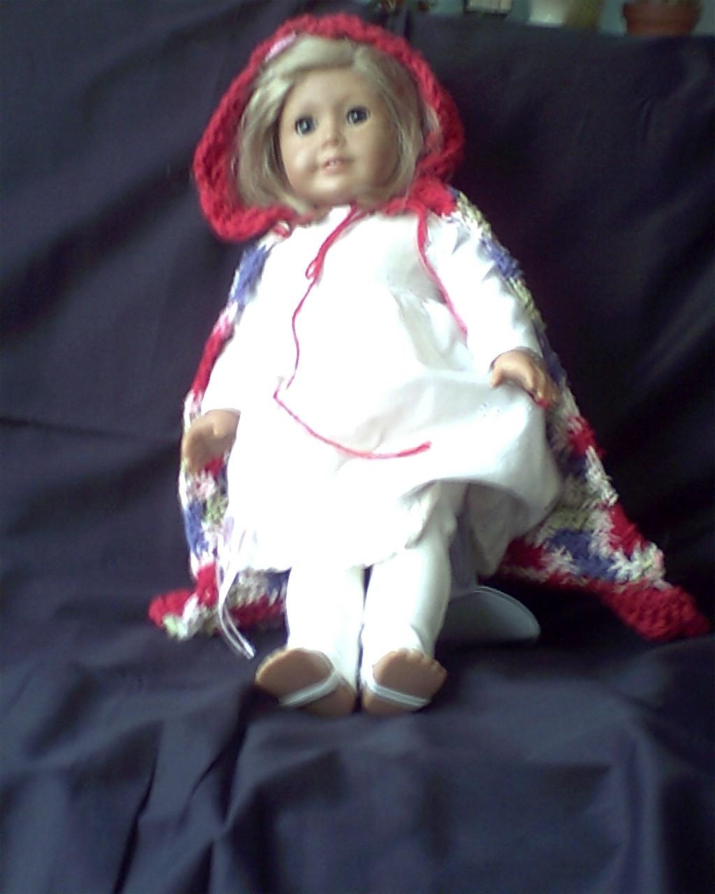 Cloak for dolls